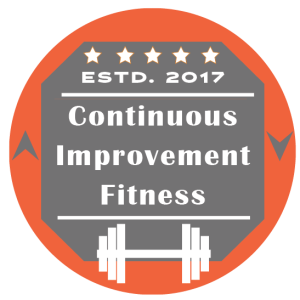 Logo of Continuous Improvement Fitness, Online Personal Training