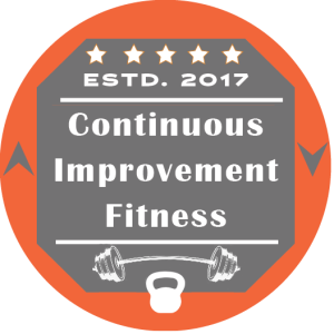 Continuous Improvement Fitness Logo